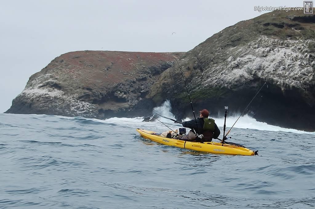 Santa barbara island 2 day trip kayak fishing adventures for Santa barbara fishing charters