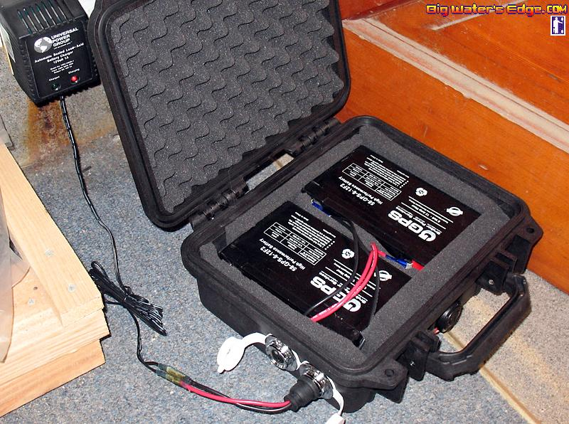 New battery box set up and xfactor rigging kayak fishing for Battery powered fish finder