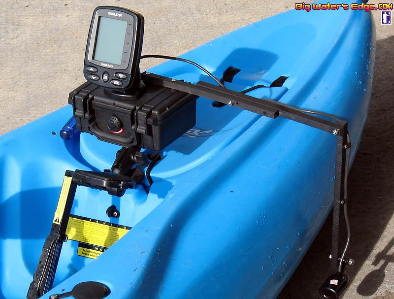 share your innovations [archive] - kayak fishing adventures on big, Fish Finder