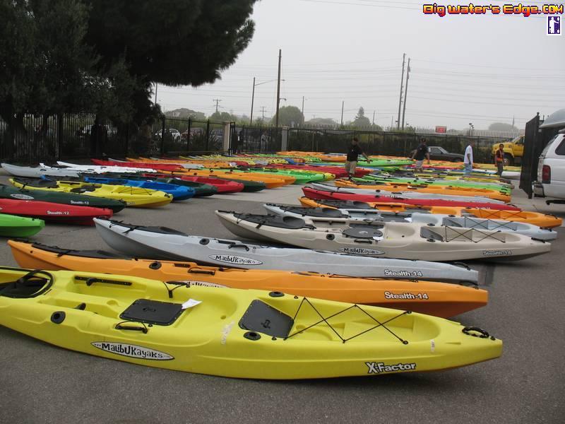 Malibu Kayaks Factory Parking Lot Sale Bloodydecks
