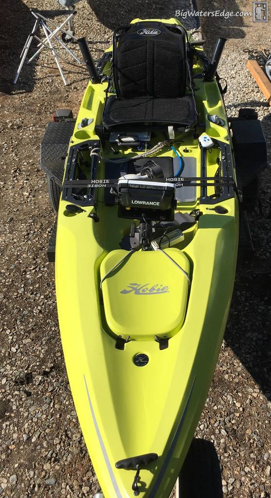 Quick Hobie Outback review - Kayak Fishing Adventures on Big