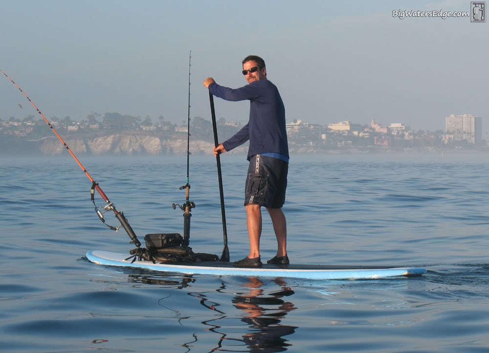Kayak fishing adventures on big water s edge view single for La jolla fishing