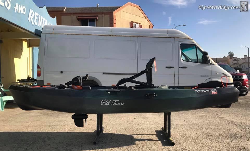 Old Town Topwater PDL - Kayak Fishing Adventures on Big