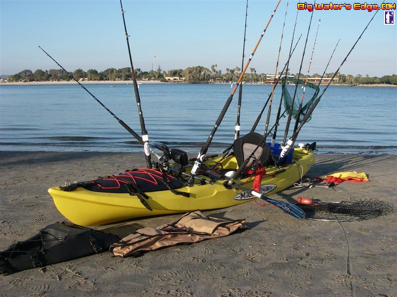 Kayak fishing setup for Fishing canoe setup